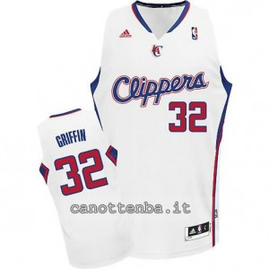 Canotta blake griffin #32 los angeles clippers revolution 30 bianca