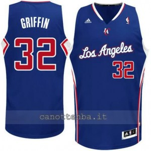 Canotta blake griffin #32 los angeles clippers revolution 30 blu