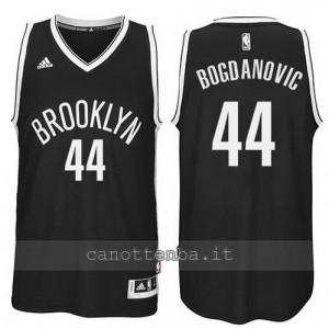 Canotta bojan bogdanovic #44 brooklyn nets revolution 30 nero