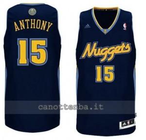 Canotta carmelo anthony #15 denver nuggets revolution 30 navy