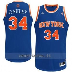 Canotta charles oakley #34 new york knicks revolution 30 blu