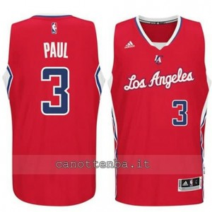 Canotta chris paul #3 los angeles clippers 2014-2015 rosso