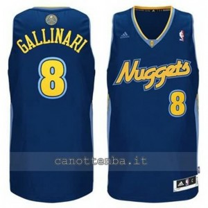 Canotta danilo gallinar #8 denver nuggets revolution 30 blu