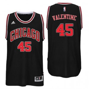 Canotta denzel valentine #45 chicago bulls draft 2016 nero