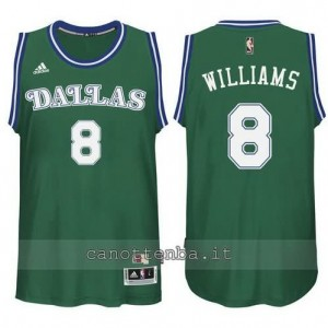Canotta deron williams #8 dallas mavericks classico verde