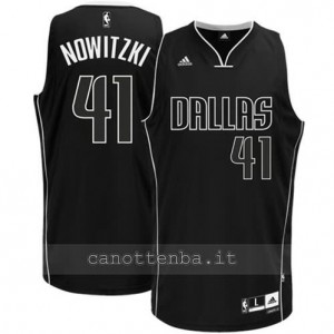 Canotta dirk nowitzki #41 dallas mavericks swingman nero