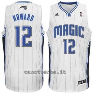Canotta dwight howard #12 orlando magic revolution 30 bianca