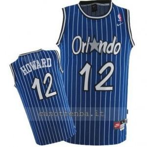 Canotta dwight howard #12 orlando magic soul blu