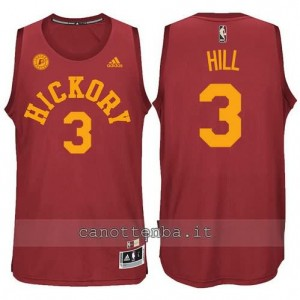 Canotta george hill #3 indiana pacers hickory rosso