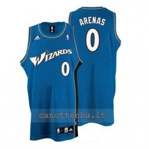 Canotta gilbert arenas #0 washington wizards blu