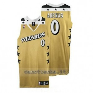 Canotta gilbert arenas #0 washington wizards giallo