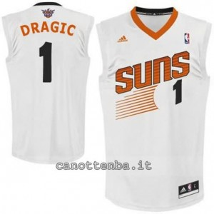 Canotta goran dragic #1 phoenix suns revolution 30 bianca