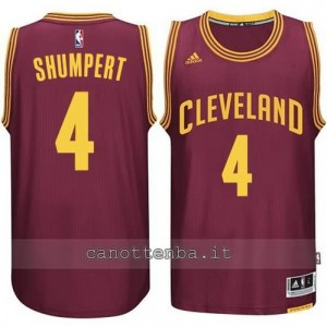Canotta iman shumpert #4 cleveland cavaliers 2014-2015 rosso