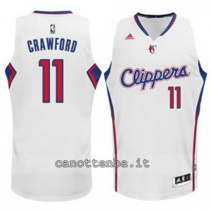 Canotta jamal crawford #11 los angeles clippers 2014-2015 bianca
