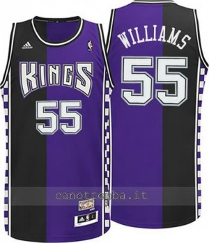 Canotta jason williams #55 sacramento kings moda classico