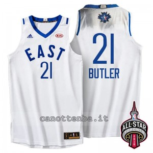 Canotta jimmy butler #21 nba all star 2016 bianca
