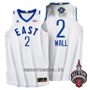 Canotta john wall #2 nba all star 2016 bianca