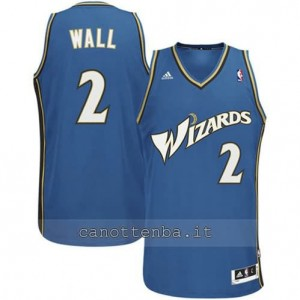 Canotta john wall #2 washington wizards revolution 30 blu