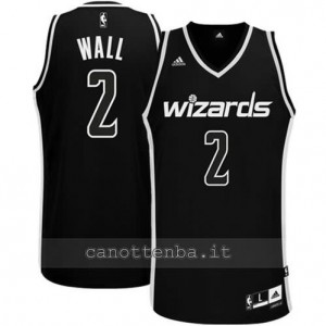 Canotta john wall #2 washington wizards revolution 30 nero