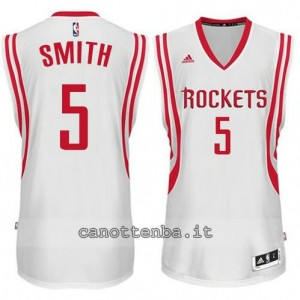 Canotta josh smith #5 houston rockets 2014-2015 bianca