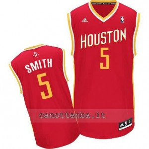 Canotta josh smith #5 houston rockets revolution 30 rosso