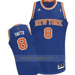 Canotta jr smith #8 new york knicks revolution 30 blu