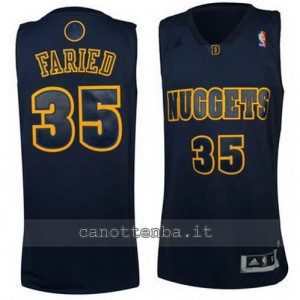 Canotta kenneth faried #35 denver nuggets moda nero