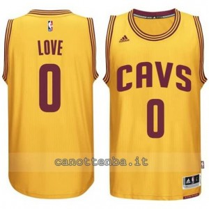Canotta kevin love #0 cleveland cavaliers 2014-2015 giallo