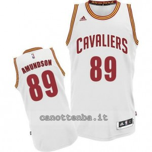 Canotta lou amundson #89 cleveland cavaliers revolution 30 bianca