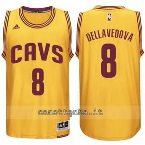 Canotta matthew dellavedova #8 cleveland cavaliers 2014-2015 giallo