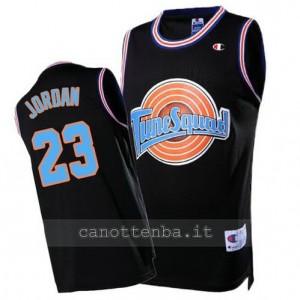Canotta michael jordan #23 chicago bulls tune squad nero