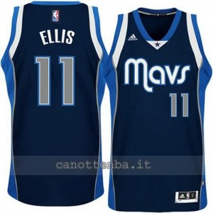 Canotta monta ellis #11 dallas mavericks navy blu