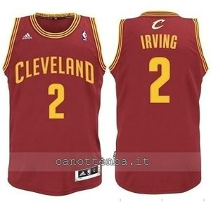 canotta basket bambino cleveland cavaliers kyrie irving #2 rosso