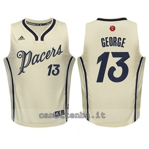canotta basket bambino indiana pacers paul george #13 natale 2015