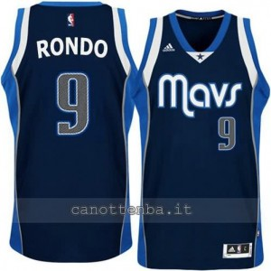 Canotta rajon rondo #9 dallas mavericks alternato blu