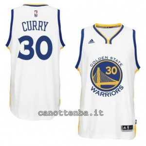 Canotta stephen curry #30 golden state warriors 2014-2015 bianca