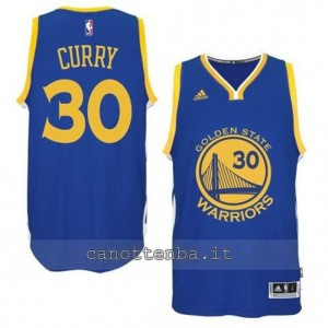 Canotta stephen curry #30 golden state warriors 2014-2015 blu