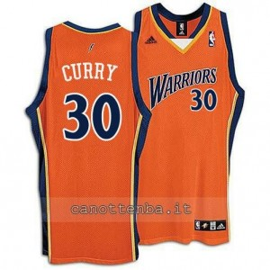 Canotta stephen curry #30 golden state warriors arancia