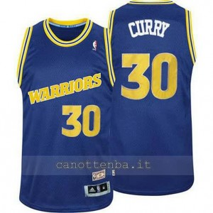 Canotta stephen curry #30 golden state warriors classico blu