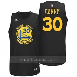 Canotta stephen curry #30 golden state warriors moda nero