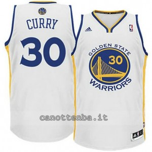 Canotta stephen curry #30 golden state warriors revolution 30 bianca