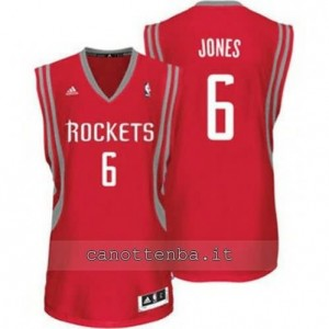 Canotta terrence jones #6 houston rockets revolution 30 rosso