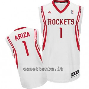 Canotta trevor ariza #1 houston rockets revolution 30 bianca