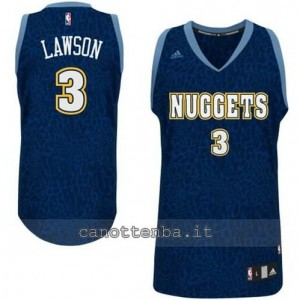 Canotta ty lawson #3 denver nuggets leopard