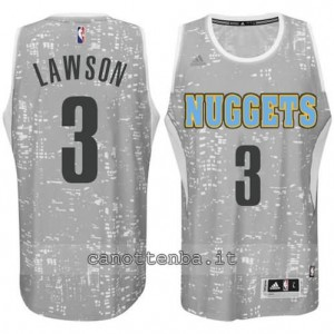 Canotta ty lawson #3 denver nuggets lights grigio