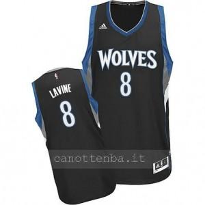 Canotta zach lavine #8 minnesota timberwolves 2014-2015 nero