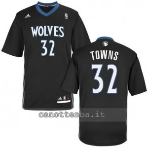 Canotta anthony towns #32 minnesota timberwolves nero