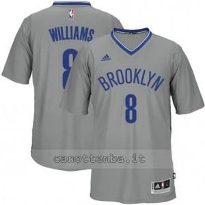 Canotta deron williams #8 brooklyn nets grigio