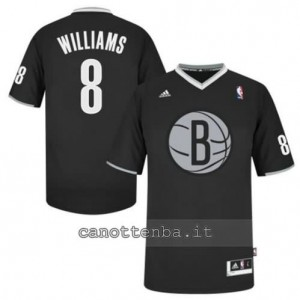 Canotta deron williams #8 brooklyn nets nero