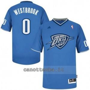Canotta russell westbrook #0 oklahoma city thunder blu